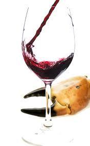 red wine...beautiful, aromatic, tasteful, warming...