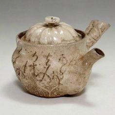 Antique Japanese Pottery Tea Pot by Otagaki Rengetsu #1924 - CHANOYU