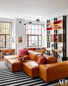 The Zhush: Home Tour: Naomi Watts and Liev Schreiber's Amazing NYC Loft