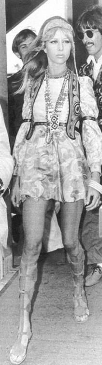 Pattie Boyd. Love her