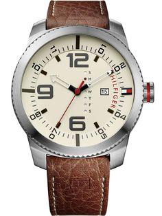 Tommy Hilfiger Uhr 1791013 Graham Herren silber braun 50 mm Cod produs: mid-14104 Acum: 618,87 lei Pret recomandat*: 693,17 lei