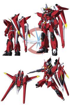 Saviour Gundam is one of the newest model of the Second Stage MS series developed by ZAFT. Gundam Build Fighters Try, Mecha Suit, Gundam Wallpapers, Gundam Mobile Suit, Unicorn Gundam, Gundam Seed, Gundam Art, Robot Concept Art, Custom Gundam