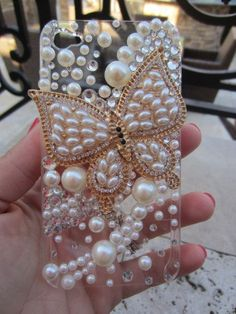 Iphone 4 Case Bling IPhone Case by itsablingthingltd, $24.99 Ipod Touch Cases, Bling Phone Cases, Diy Phone Case, Cute Phone Cases, Iphone Phone Cases, Iphone 4, Henna Phone Case, Cute Couple Gifts, Cell Phone Covers