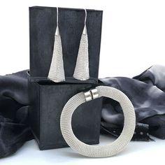 Silver-cone-set