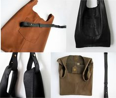 Leather tote bag SALE  soft leather bag for women  by JUDtlv, $220.00