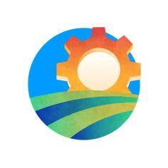 Usa Today, One Color, Signage, Panda, Badge, Branding, Symbols, Illustration, Art