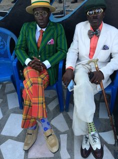 African Creature - dynamicafrica: Chatting to Ghanaian DJ Steloo. Sharp Dressed Man, Well Dressed Men, Mode Masculine, Fashion Mode, Mens Fashion, Afro, Style Africain, Africa Fashion, Advanced Style