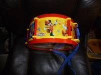 DISNEY MICKEY MOUSE CLUBHOUSE DRUM SET FREE SHIPPING