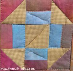Quilt Ladies Free Pattern, Churn Dash Quilt Pattern Block