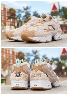 BAIT x TED 2 x REEBOK Fury Instapump ANGRY NASTY TED DS -SIZE 7.5 100% AUTHENTIC