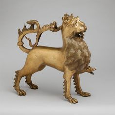 Aquamanile in the Form of a Lion | German | The Metropolitan Museum of Art