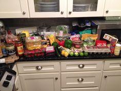 Whole 30 shopping list: Costco, Trader Joe's, Whole Foods, Central Market... via Heather Bakes