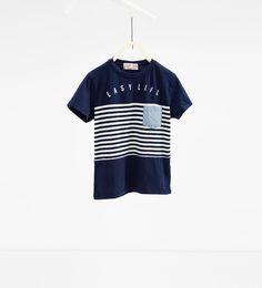 Imagem 1 de T-shirt riscas da Zara