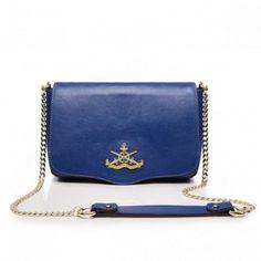 Listonoszka Effective Design Leather - Blue