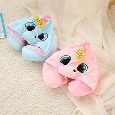 ff4911744b6 (Best Seller) Hooded Unicorn Neck Pillow. Whimsical Fashion ...