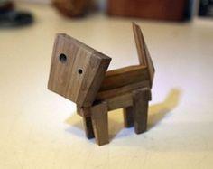 Gato de Madeira - Toy Art