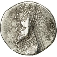 Unfortunately, this collectible item is no longer available ! ➽ Ask us to find it for you : Coin Parthia (Kingdom of) Sinatrukes Drachm Rhagai Silver. Parthian Empire, Oriental, Coins, Silver, Inspiration, Collection, Biblical Inspiration, Coining, Money
