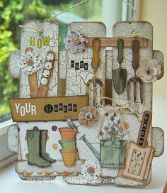 Kath's Blog......diary of the everyday life of a crafter: In The Potting Shed...
