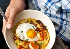 Shrimp & Grits | 29 Cozy And Delicious Things To Make On A Snowy Weekend