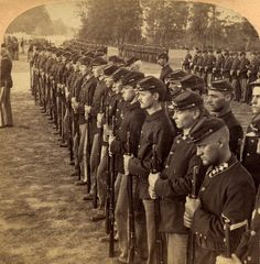 Third NY volunteers, Camp Alger, VA. USA, 1898