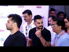 Virat Kohli at Pro Kabbadi league 2016 opening ceremony.https://youtu.be/Yt19xQQkQXs