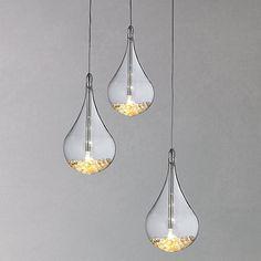 Buy flos fucsia 3 pendant online at johnlewis kitchen ideas buy john lewis sebastian 3 light drop ceiling light online at johnlewis mozeypictures Gallery