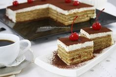 You will find here various recipes mainly traditional Romanian and Mediterranean, but also from all around the world. Turkish Recipes, Ethnic Recipes, Biscuit Cake, Romanian Food, Strawberry Recipes, Mini Desserts, Quick Bread, Fudge, Appetizer Recipes