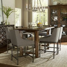 Shop A.R.T. Furniture Echo Park 7 Piece Counter Height Dining Set At ATG  Stores.