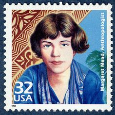 US Stamp 1998  - Celebrate the Century 1920s Margaret Mead, Anthropologist