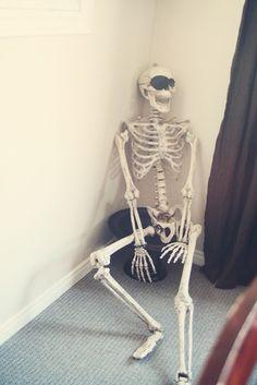 Skeleton. Pirate party ideas