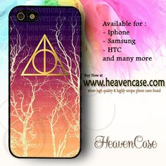 Deathly Hallows Mystical Tree available For Iphone 4/4s/5/5s/5c case , Samsung Galaxy S3/S4/S5/S3 mini/S4 Mini/Note 2/Note 3 case , HTC One X , HTC One M7 case , HTC One M8 case and many more , check our website www.heavencase.com