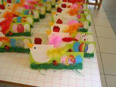 Sempre criança Easter Activities, Art Activities, Preschool Crafts, Easy Crafts, Diy And Crafts, Paper Crafts, Easter Art, Craft Club, Kindergarten Art