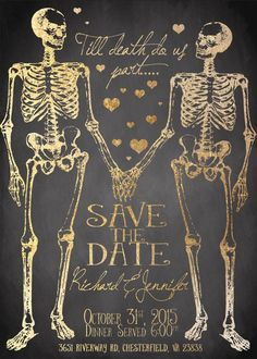 Till Death Do Us Part Wedding Invitation