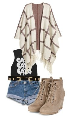 """""""Fall-best season"""" by hope-devoirdevon ❤ liked on Polyvore featuring H&M and River Island"""