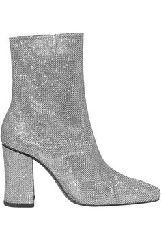 Silver Sybil lamé ankle boots   Sale up to 70% off   THE OUTNET   DORATEYMUR   THE OUTNET