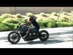 GARAGE BOBBERZ HONDA SHADOW BOBBER - YouTube