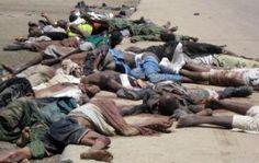 The Religion of dead: Muslims slaughtering Muslims, Boko Haram Nigeria attack kills hundreds of people