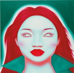 Chinese Portrait G Series, No. 05 by Feng Zhengjie on artnet