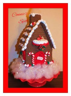 Christmas Gingerbread House©, Halloween Haunted House©, & Little Girls Doll House Patterns© Three Great Patterns in One!! by ConniesSpot on Etsy https://www.etsy.com/listing/168687727/christmas-gingerbread-house-halloween