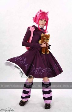 Annie's cosplay; FaceBook page : http://tiny.pl/gmn5p  Instagram -> @hella_a_oficiall #annie #league of legends #lol #tibers #cosplay