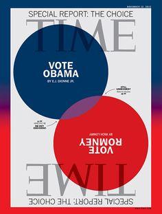 Revista Time (EEUU) - 12 de noviembre de 2012. Los por qué para votar por Barack Obama http://ideas.time.com/2012/11/01/viewpoints-why-im-voting-for-obama/slide/all/, y por Mitt Romney http://ideas.time.com/2012/11/01/viewpoints-why-im-voting-for-romney/