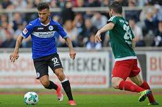 Bundesligisten können Sponsor selbst wählen +++  Das tragen die Arminen in dieser Saison auf dem Ärmel