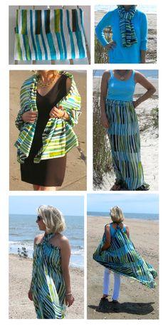 The versatility of voile!  Mood Fabrics Cotton Voile #moodfabrics www.goodbyevalentino.com