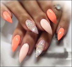 pretty ideas of colors for nail designs for women 2019 page 1 - - Nails - Nageldesign Natur Blue Acrylic Nails, Acrylic Nail Designs, Nail Art Designs, Color For Nails, Nail Colors, Cute Nails, Pretty Nails, Smart Nails, Manicure Gel