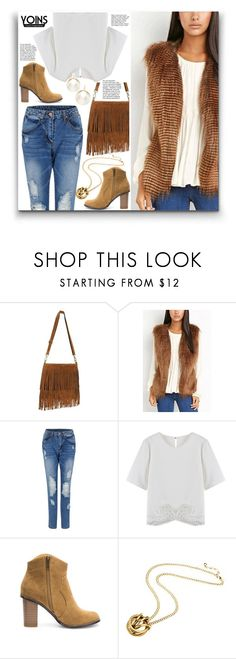 """yoins {17}"" by wannanna ❤ liked on Polyvore featuring women's clothing, women, female, woman, misses, juniors and yoins"