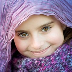 Cute, so purple (people, portrait, beautiful, photo, picture, amazing, photography, kid, child, girl)
