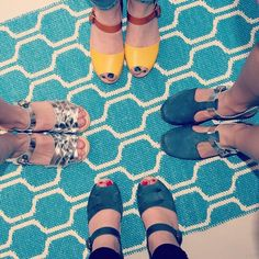 when you're all wearing clogs, a photo is needed! #fromwhereistand
