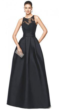 Pronovias Nellie dress Black Tie Inspiration