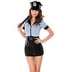 la police de halloween costume sexy pour femmes