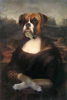 Bitchy Mona Lisa